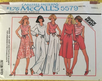 70's vintage McCall pattern