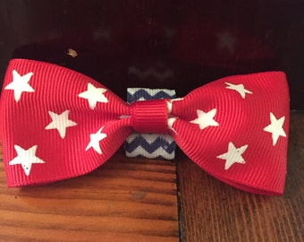 Americana Pet Bow/Bow Tie (over the collar)