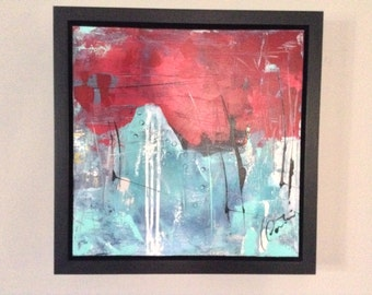 Contemporary painting abstract on canvas Gallery. Perfect gift! 16