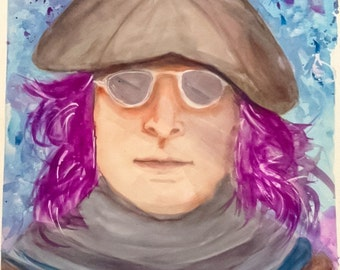 John Lennon - Imagine - abstract