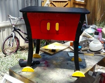 mickey mouse end table