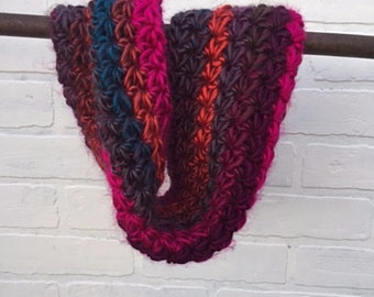Starkist Cowl // Supersoft // Colorful Striped