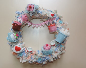 Wreath - Toothache Tea Party