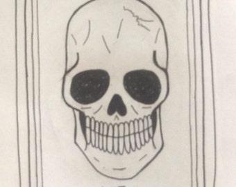 Death Tarot Card Print