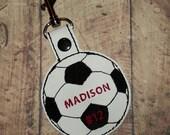 Gym Bag Tag - Sports Bag Tag - Gym Bag Keychain - Golf Bag Tag - Tennis Bag Tag - Basketball Bag Tag - Soccer Bag Tag - Team Gift