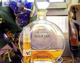 Guerlain NAHEMA (1979) PdT Jacques GUERLAIN'S Rose MASTERPIECE!