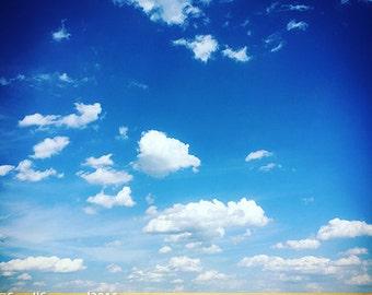 Pennsylvania + Field Sky + Clouds + Photograph + Framed Print + Gifts Under 50 + Bathroom Art + Nature + Cabin