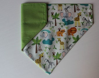 Into the Jungle Dog Bandana