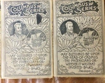 Two old James Fenimore Cooper books 1895