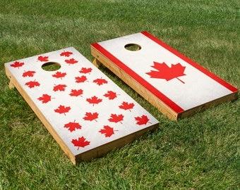 Oh Canada, Eh? Cornhole Board Set