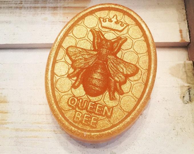 Featured listing image: Golden Honey Queen Bee Soap