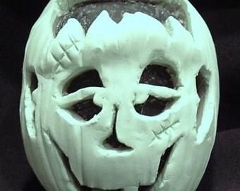 Sculpey Frankenstein Pumpkin