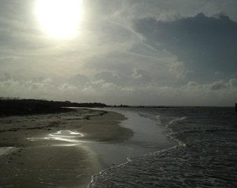 Caper's Island beach surf Charleston SC