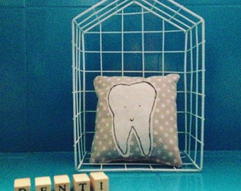 tooth tooth pillow cushion