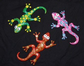Wall gecko MADE TO ORDER