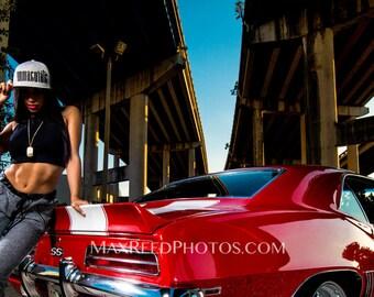 "Immaculate | Car Series- Metallic Photo Print 24"" x 36"""