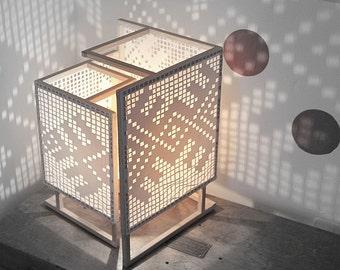 """Lampe design moderne avec des motifs folk - """"Lejere"""""""