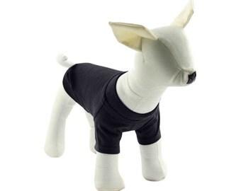Black Dog T-Shirt - Dog Tees - Dog Shirts - Pet Shirts - XXS to XXL