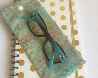 Sunglasses/Reading Glasses Fabric Case
