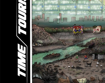 Time Tourists Graphic Novel