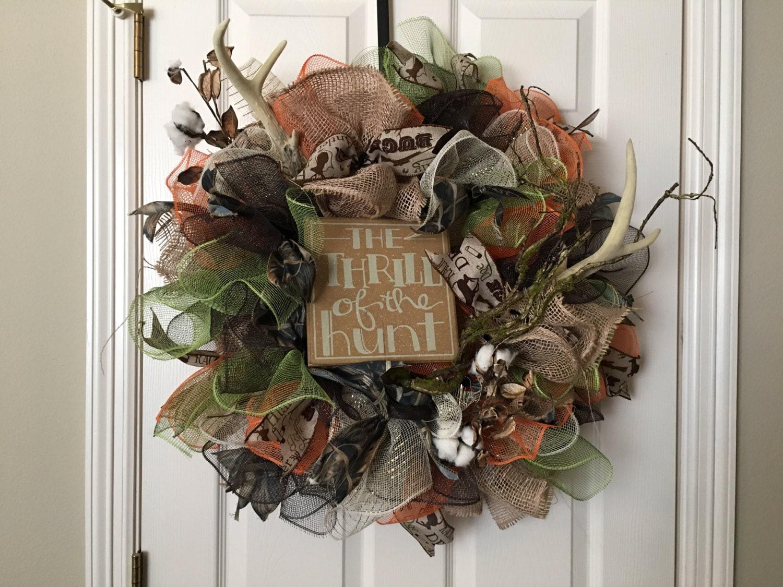 salehunting wreath deer hunting wreath fall wreath deco