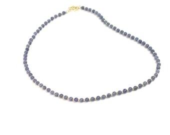 Tanzanite & Silver Necklace