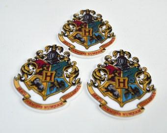 Harry Potter Wizard  Planar Resin Cabochon Embellishments