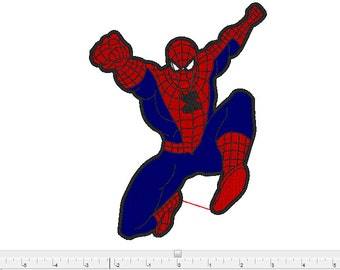 spiderman marvel embroidery design ,pes,dst,exp,hus , jef , pcs  , xxx machine embroidery