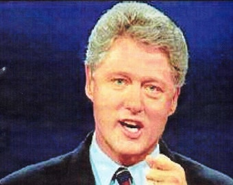 """Truth In Colors  - President Bill Clinton's famous """"I did not have relations with that woman"""""""