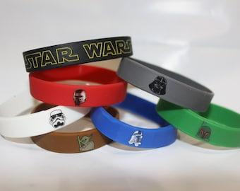 Star Wars Party Favor Bracelets 7 per pack