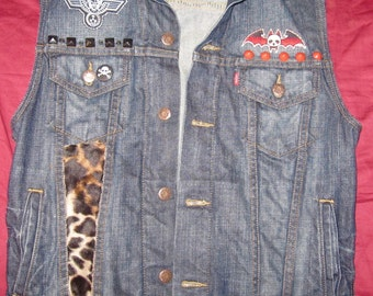 Punk Rock/Hesher Vest Sz Small