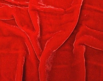Plush silk velvet fabric 54 inches wide 27.99/yard