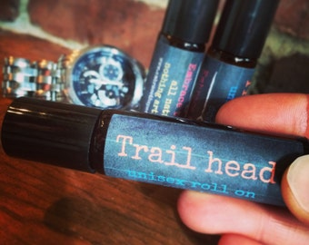 TRAIL HEAD - Unisex roll on scents-  smells AMAZING!!