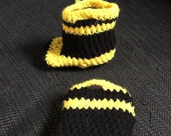 Crochet Fireman Boots