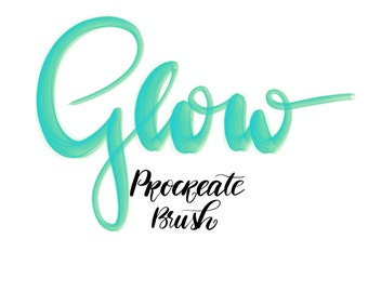 Glow Brush for Procreate by Krieg+Liebe