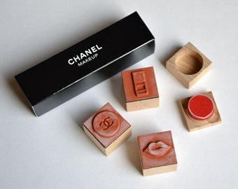 Rare Set of Chanel rubber stamps