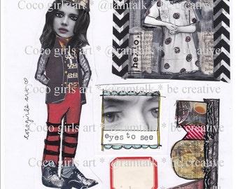 Art Journal Pop Sheet