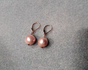 Fall simple pearl drops.
