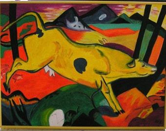 Franz Marc's Happy Cow
