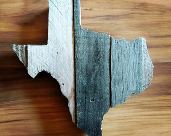 Unique Reclaimed Wood Texas Art,  Rustic Wood Texas Decor, Texas Wall Decor, Unique Texas Decor