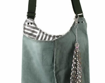 SALE Hand-made I-Ppad, Tablet, Cell Phone Canvas Handbag Messenger bag