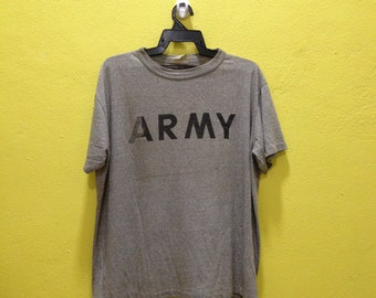 Vintage Us Army Shirt Army T-shirt 80s Army Shirt Usa Army saize L