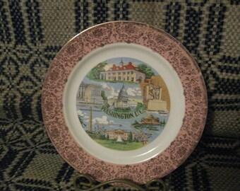 sale  Souvenir Plate  Washington, D.C free shipping in u s a