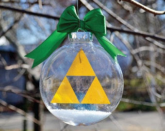 Legend of Zelda Triforce - Christmas Tree Ornament