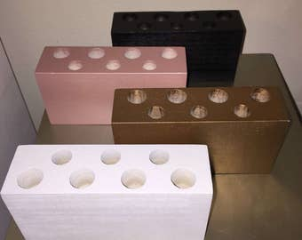 items similar to wooden countertop makeup organizer. Black Bedroom Furniture Sets. Home Design Ideas