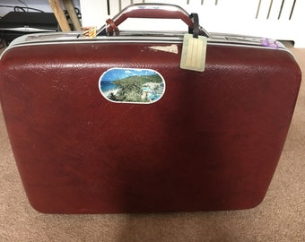 Samsonite retro/vintage suitcase