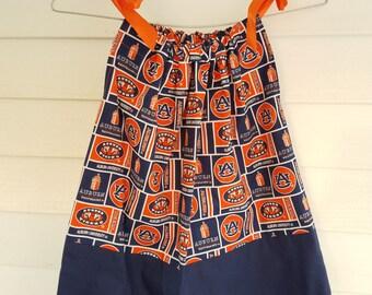 Auburn Block print Pillowcase Dress