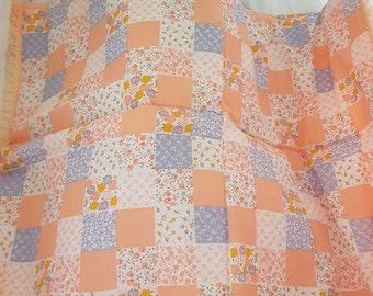 Apricot Bassinet /pram quilt