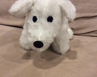 Stuffed Bichon puppy plush