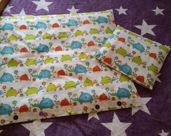 cotton cot quilt cover